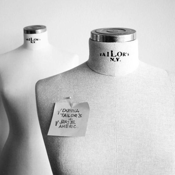Busti vetrina sartoriali - Tailor's N.Y.